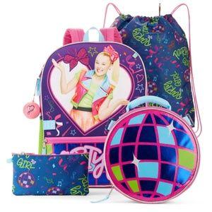 *ONLY 1 LEFT!* Nickelodeon JoJo Siwa Backpack Set